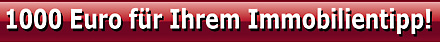 Bis zu 1000€ Provision für Ihren Immobilientipp