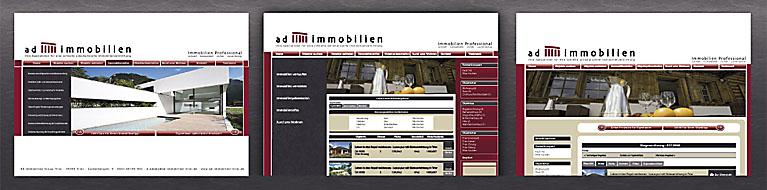 Internetpräsentation von Immobilien auf der Homepage von Ihrem trierer Immobilienmaklers der AD Immobilien Group Trier.