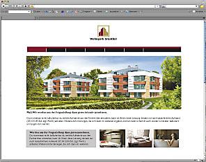 Eigene Internetpräsenz für Ihr Immobilienprojektes