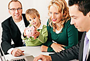Auch Familien können beim Makler sparen